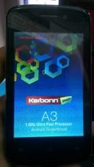 Hard reset (Factory Reset) Karbonn A21 Mobile